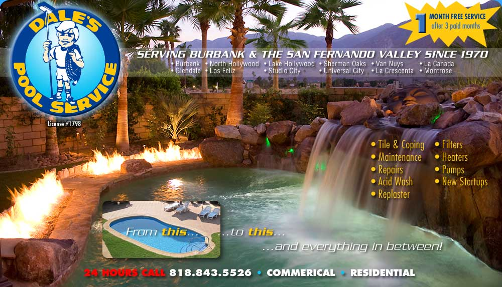 Professional Pool Service Since 1970